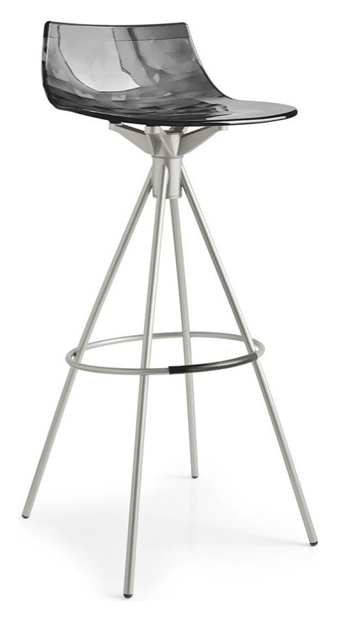 Connubia Calligaris ICE CB/1050 Stool in metal and technopolymer h ...