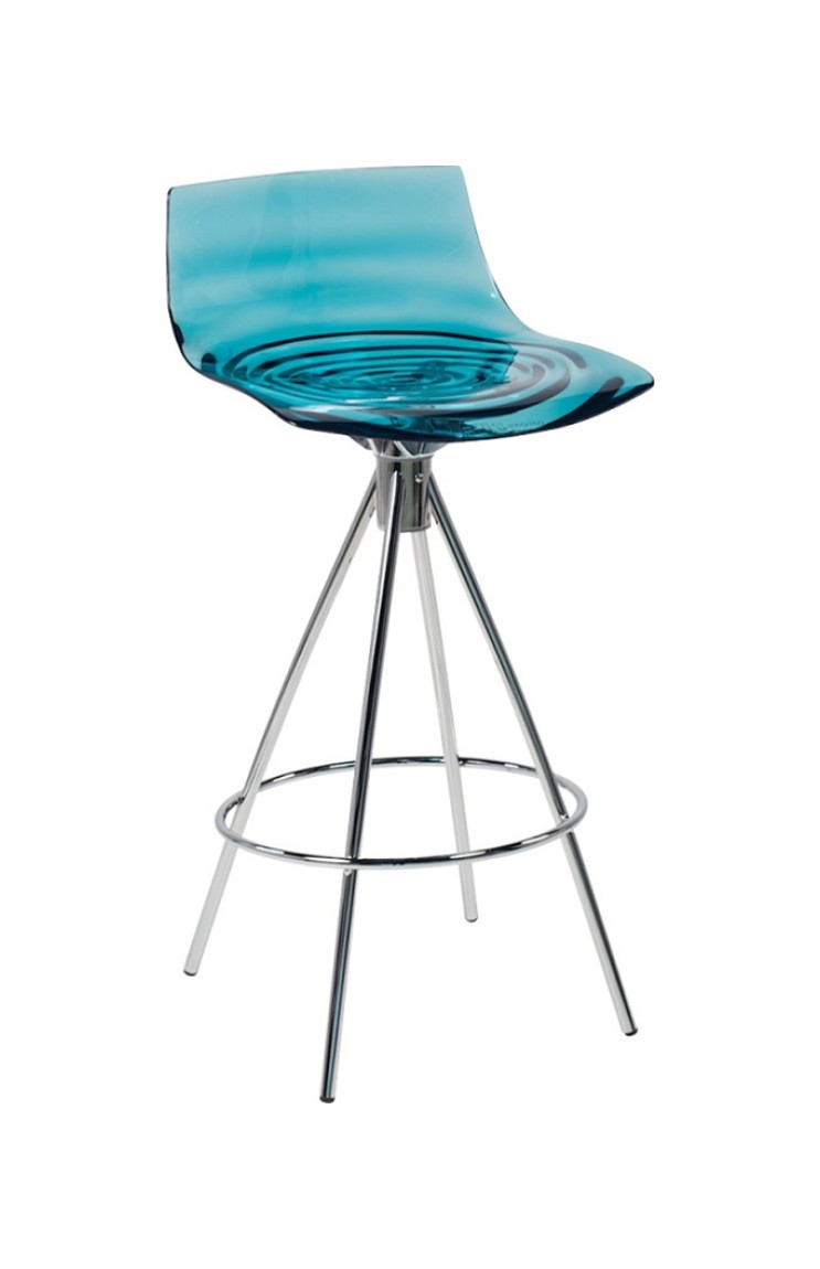 Connubia Calligaris L\' EAU CB/1269 Stool in metal and technopolymer ...