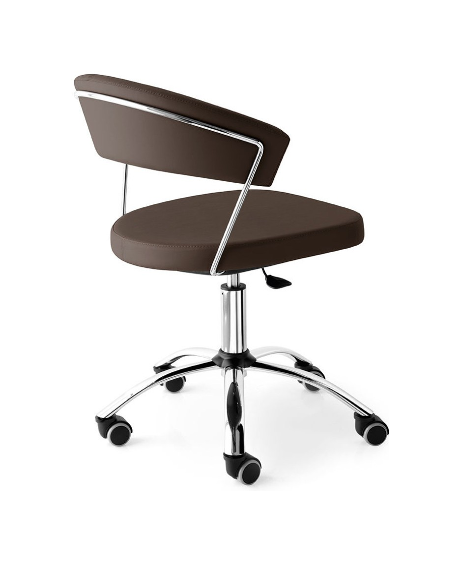 Connubia Calligaris NEW YORK CB/624 Home office chair in metal and ...