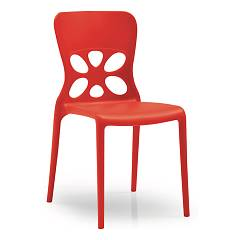 Connubia Calligaris Neon Cb/1313 Stackable plastic chair for outdoor