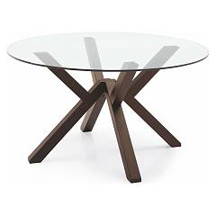 sale Connubia Calligaris Mikado Cb/4728-v 140 Fixed Round Table D. 140