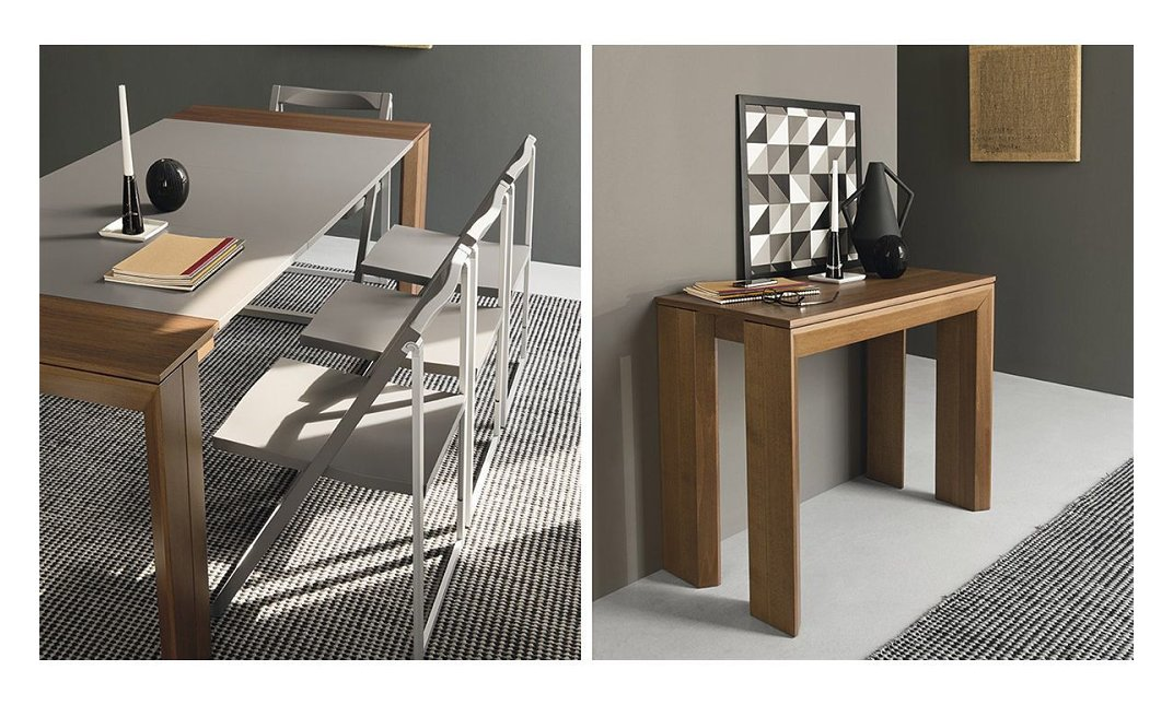 Calligaris Consolle Mistery.Extendable Connubia Calligaris New Mistery