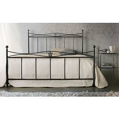 Cosatto Albatros Double bed in iron with container