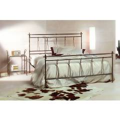 Cosatto Anna Double bed in iron with container