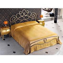Cosatto Arabesco Double bed in iron with container