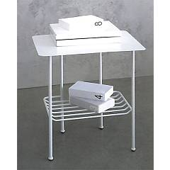 Cosatto Solaris Iron night table with two shelves cm. 55 x 41 x 55h