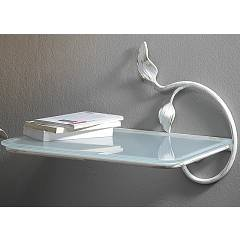 Cosatto Anita Wall table with iron shelf with satined glass shelf cm. 47 x 33 x 33h