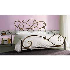 Cosatto Aura Double bed in iron with container