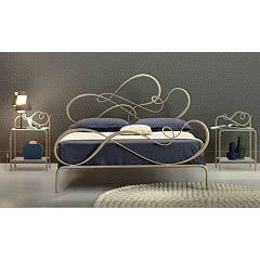 Cosatto Blues Double bed in iron