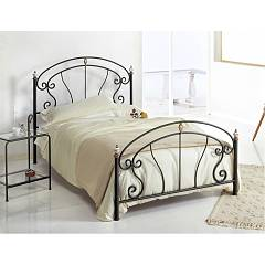 Cosatto Bolero Bed a square and half in iron with container