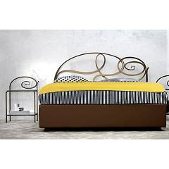 Cosatto Capriccio Double bed in iron with container