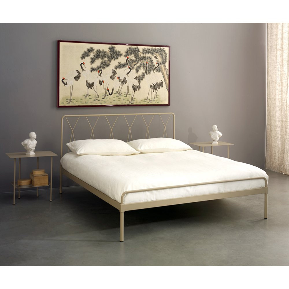 Photos 2: Cosatto Double bed in iron ELTON