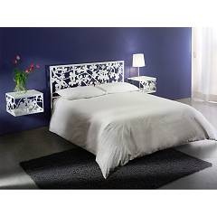Cosatto Flower Double bed in iron with container
