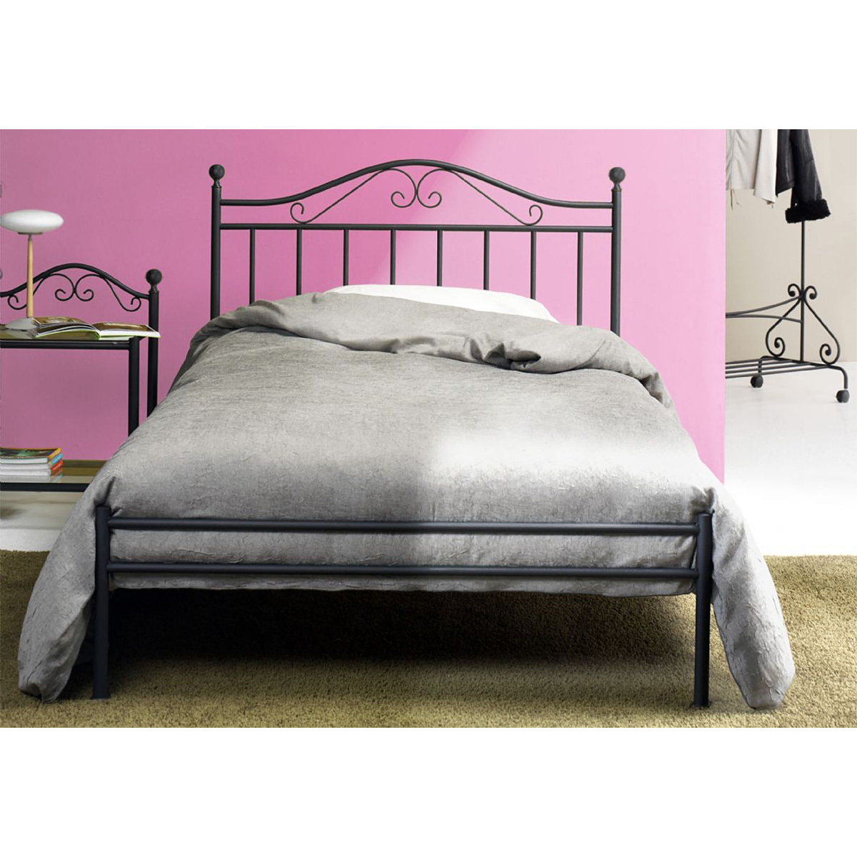Photos 3: Cosatto Double bed in iron GIUSY