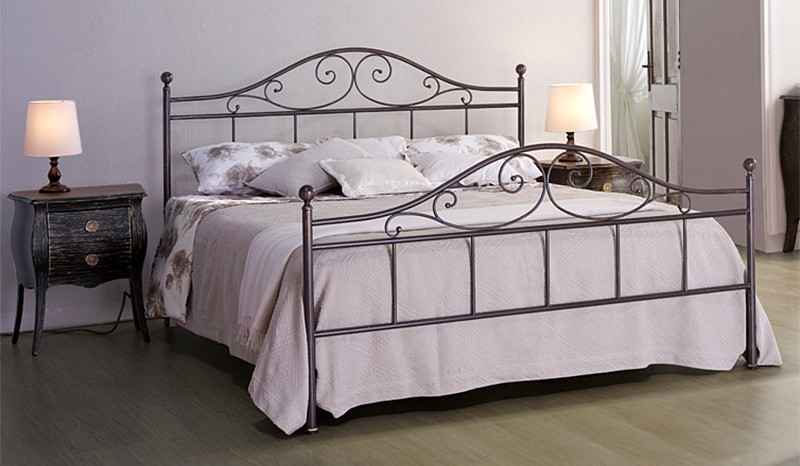 Photos 1: Cosatto Double bed in iron GIUSY