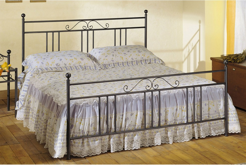 Photos 1: Cosatto Double bed in iron INES