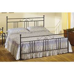 Cosatto Ines Double bed in iron with container