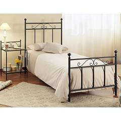 Cosatto Ines Single bed in iron with container