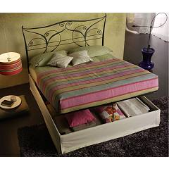 Cosatto Klimt Double bed in iron with container