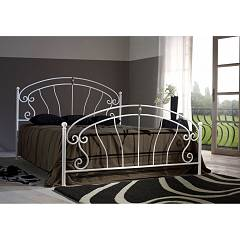 Cosatto Mistral Double bed in iron with container