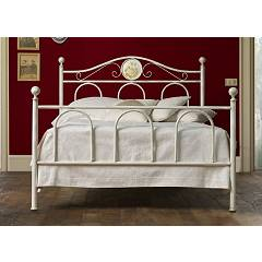 Cosatto Lina Bed a square and half in iron with container