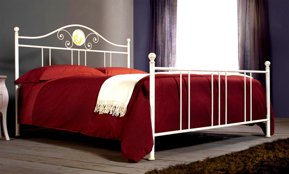 Photos 1: Cosatto Double bed in iron ROMANZA