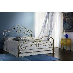 Cosatto Rubens Double bed in iron with container