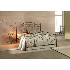 Cosatto Venus Double bed in iron with container