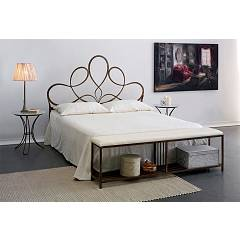 Cosatto Violetta Double bed in iron with container