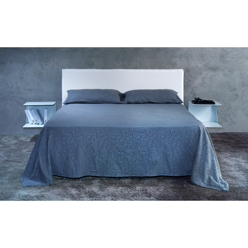 Photos 2: Cosatto Double bed in iron with upholstered headboard VOYAGER