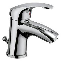 Crolla 26728 Washbasin mixer - single-chromed chrome with discharge Smart