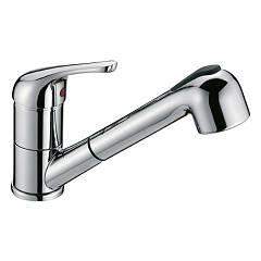 Crolla 7070 Cr Kitchen mixer with shower - chrome Tecnomix