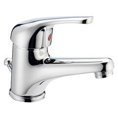 Crolla 26528 Sink mixer - chrome with discharge Squalo