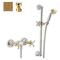 sale Crolla 817 - Liberty Shower Faucet Exterior - Old Brass With Shower