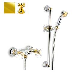 sale Crolla 817 - Liberty Shower Faucet Exterior - Gold 24 K With Shower