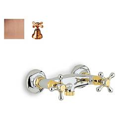 Crolla 819 Shower tap - old copper without duplex Liberty