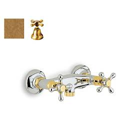 Crolla 819 Shower tap - old brass without duplex Liberty