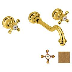 Crolla 7054 Vo Sink tap - old brass Accademia