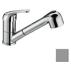 Crolla 7070 Kitchen mixer with shower - satin Tecnomix