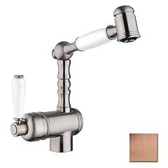 Crolla 850 Vr Kitchen mixer with shower - old copper London