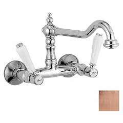 Crolla 7114 Vr Wall kitchen tap - old copper Boston