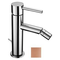 Crolla 27532 Or Op Bidet mixer - one-hole opaque pink gold with drain Domus