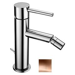 Crolla 27532 Rl Bidet mixer - polished single-hole copper with drain Domus