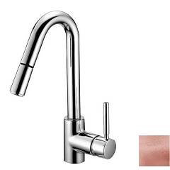 Crolla 27764d Rg Washbasin mixer with pull-out spray - rose gold Jackie