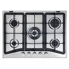 De Longhi Taf57pro Gas cooking top cm. 70 - inox Talent Pro