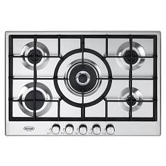 De Longhi Slf575x Gas cooking top cm. 75 - inox Slim