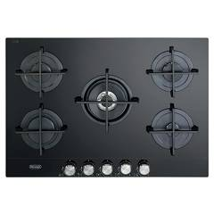 De Longhi Slf575ln2 Gas cooking top cm. 75 - black crystal Slim