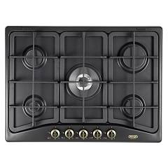 De Longhi Anf57pro Gas hob 70 cm - anthracite Country