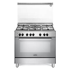 De Longhi Demx96 Striking kitchen cm. 90 - 5 gas - stainless steel burners Design