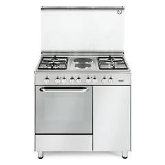 De Longhi Demx96b42 Striking kitchen cm. 90 - 4 gas - stainless steel burners Design